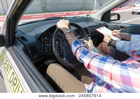 Learning To Drive A Car With A Driving Instructor
