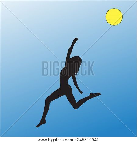 Yoga, Silhouette, Vector, Women, People, Balance,girl, Fitness, Icon, Stretch, Workout, Color, Exerc