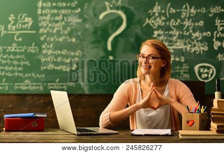 Studying Mathematics Educational Background, High School College Students Studying And Reading Toget