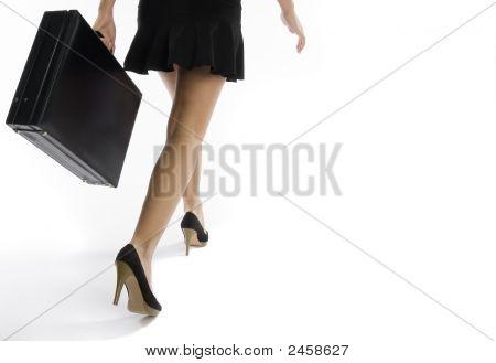 Mulher sexy de negócios