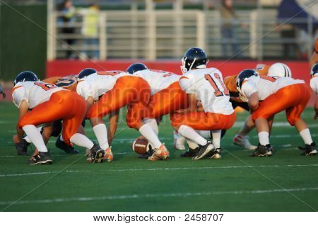 Football Line Of Scrimmage