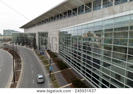 Chicago, Il, Usa - March 19, 2018:  Mccormick Place Is The Largest Convention Center In The United S