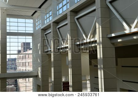Chicago, Il, Usa - March 17, 2018:  Mccormick Place Is The Largest Convention Center In The United S