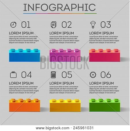 Infographic. Business Infographics. Business Steps Infographics Template. Template For Infographics.