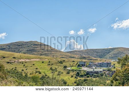 Clarens, South Africa - March 12, 2018: A View Of Clarens In The Free State Province Of South Africa