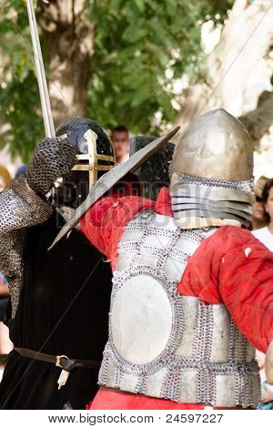 Knight Battle In Jerusalem
