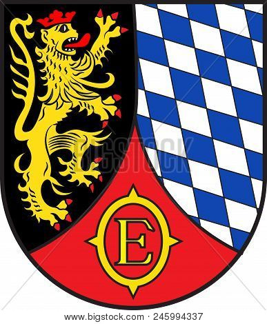 Coat Of Arms Of Edenkoben Is A Municipality In The Suedliche Weinstrasse District, In Rhineland-pala