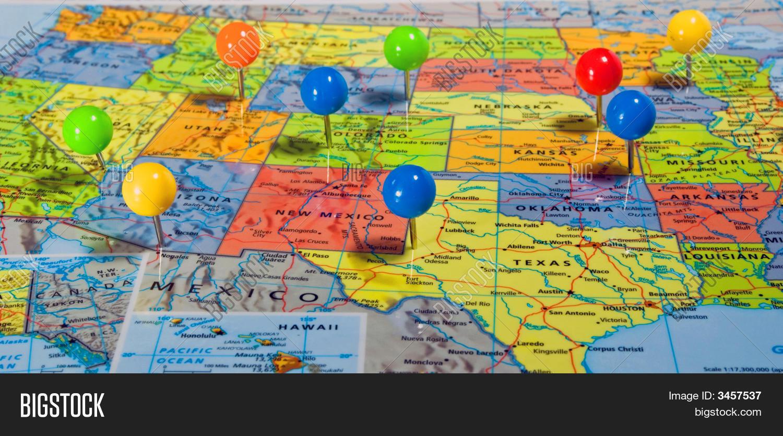 Map Usa Image & Photo (Free Trial) | Bigstock