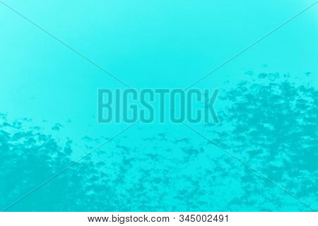 Abstract Aqua Menthe Color Background, Spotty Pattern