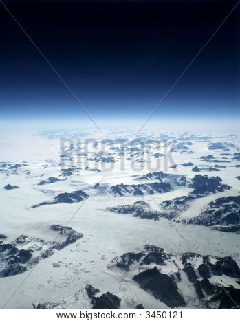 Frozen Earth And Space