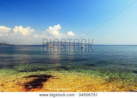 Kerkira, Corfù, Greek, Beach