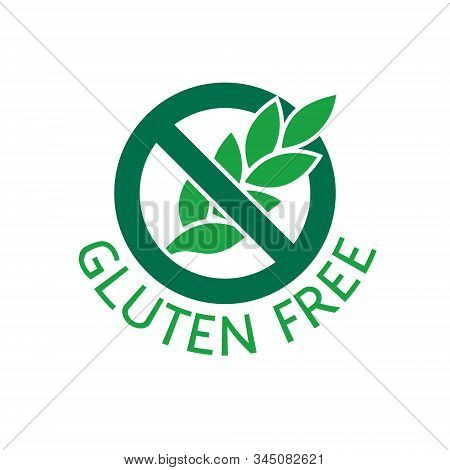 Gluten Free Food Badge. Label For Packaging Design.