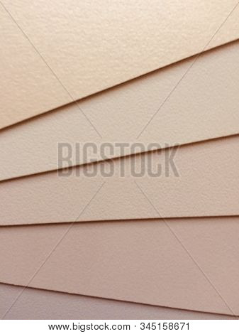 Set Of Fabric Swatch Samples,pieces Texture.color Scheme Earth Tones Fabric With White ,grey, Brown,