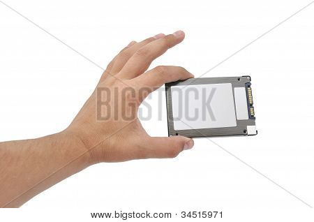 Solid-state Disk In Hand