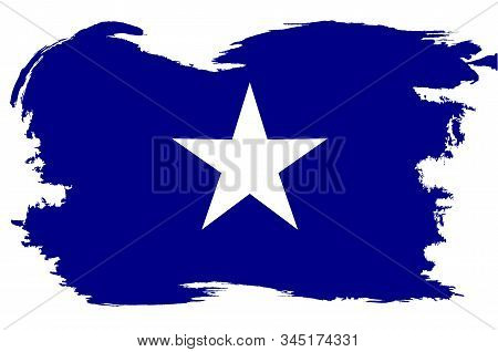 A Depiction Of The Bonnie Blue Flag The Unofficial Banner Of The Confederate States Of America With