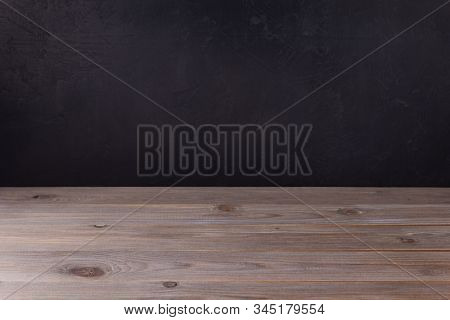 wooden plank board background as texture surface, front view