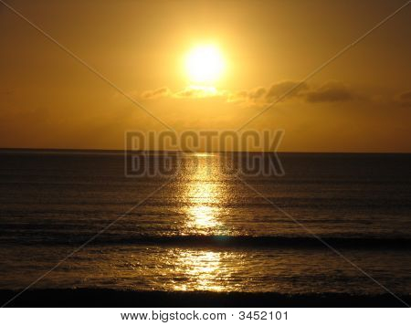 Sunrise At Beach