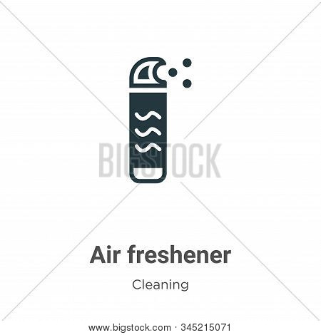 Air freshener icon isolated on white background from cleaning collection. Air freshener icon trendy