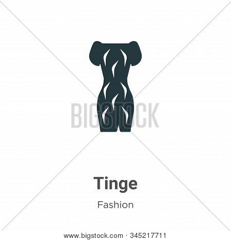 Tinge icon isolated on white background from fashion collection. Tinge icon trendy and modern Tinge