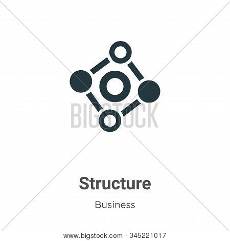 Structure icon isolated on white background from business collection. Structure icon trendy and mode