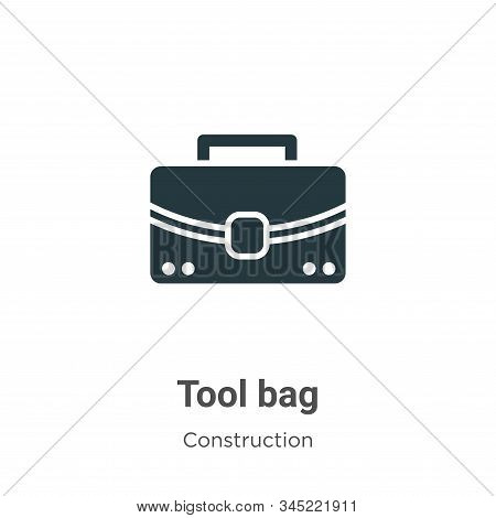 Tool bag icon isolated on white background from construction collection. Tool bag icon trendy and mo