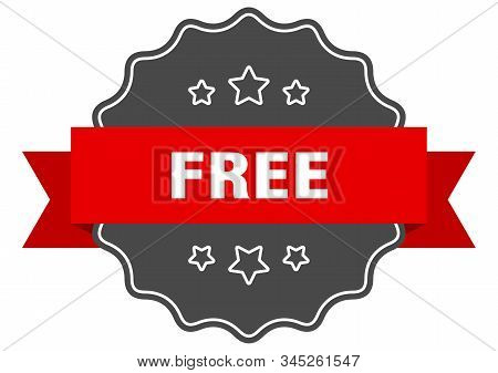 Free Red Label. Free Isolated Seal. Free