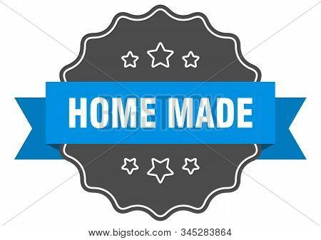 Home Made Blue Label. Home Made Isolated Seal. Home Made