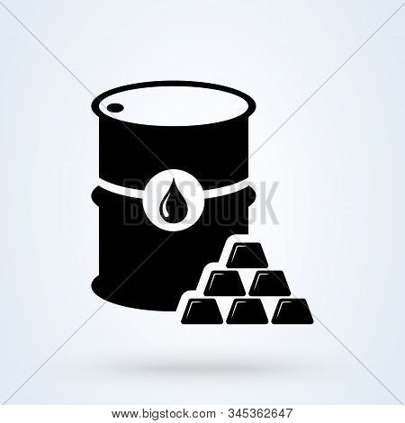 Commodity Simple Vector Modern Icon Design Illustration.