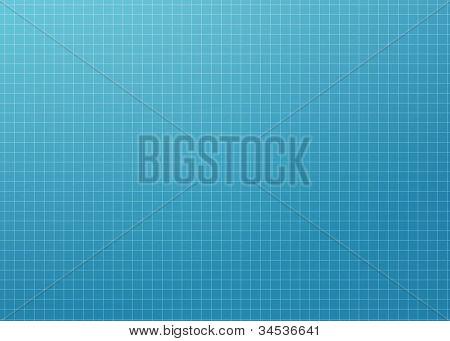 Modern Blueprint Grid - XL