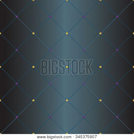 Modern Abstract Geometric Vector Seamless Pattern. Background Wallpaper Illustration With Diagonal R