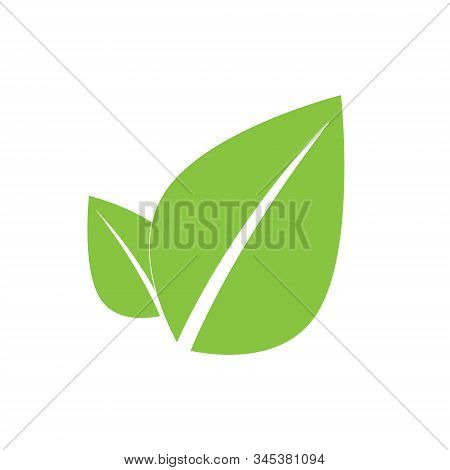 Icon For Vegan Food. Bio, Ecology, Organic Logos And Badges. Vegetarian Food Icon Suitable For Info