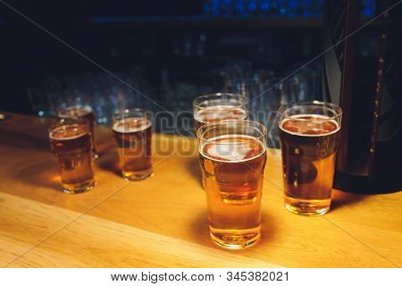 Assorted Craft Beer Varieties - Ipas, Stouts, Lagers, Sours And More.