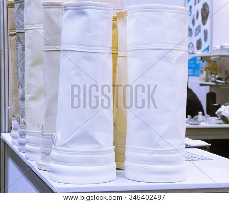 Air Filter For Dust Collector System ; Spare Part Filter Bag Is For  Collect Small Particles ; Engin