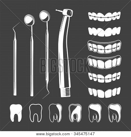 Set Of Dental Tool