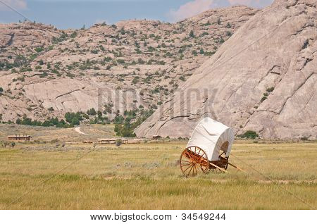 Covered Handcart
