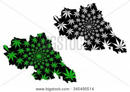 Iasi County (administrative Divisions Of Romania, Nord-est Development Region) Map Is Designed Canna