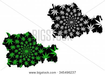 Neamt County (administrative Divisions Of Romania, Nord-est Development Region) Map Is Designed Cann