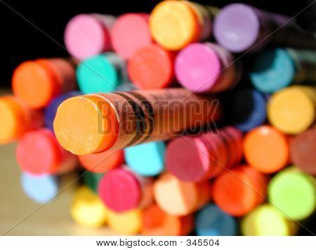 Crayon Orange