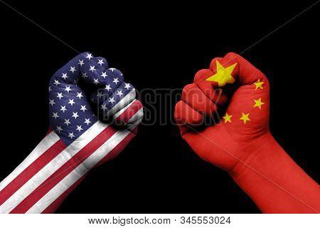 Usa And North China , International Relations Crisis