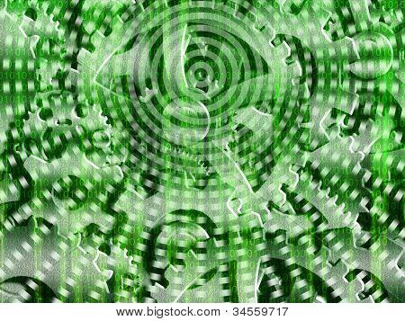 Binary code streaming with gears