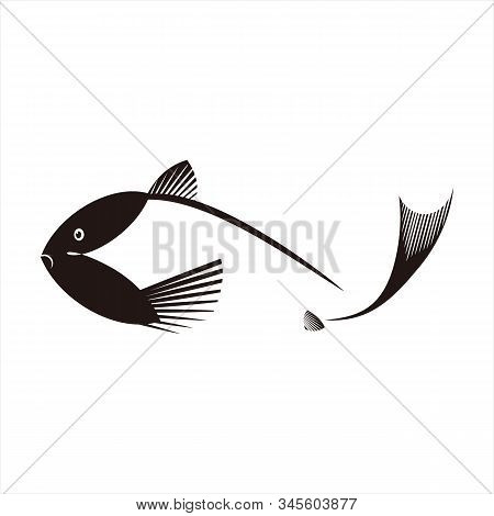 Fish Icon, Vector Icon. Icon With A White Background. Trendy And Modern Icons. Symbol Icon For Graph