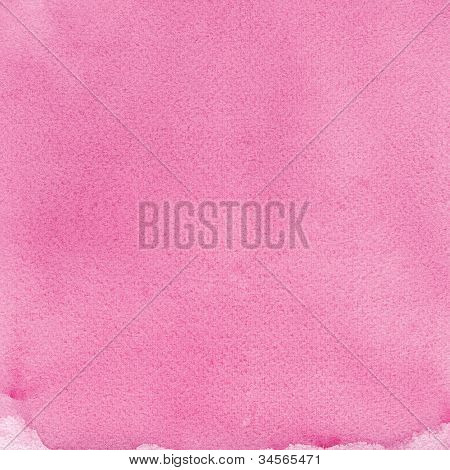 Pink Natural Handmade Watercolour Aquarelle Painting Texture, Vertical Textured Watercolor Paper Mac