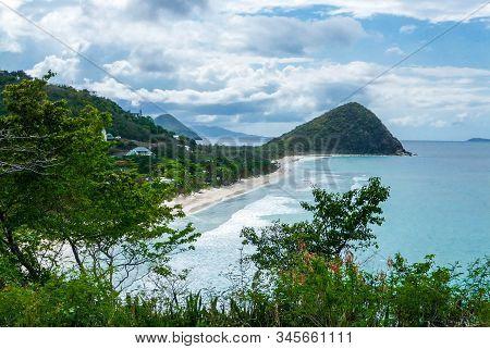 Long Beach At Tortola - British Virgin Islands