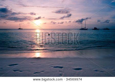 Caribbean Sea at Dawn