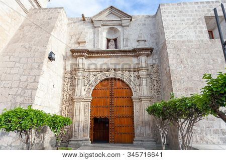Santa Rosa Monastery In Arequipa, Peru, South America. 2019-12-04
