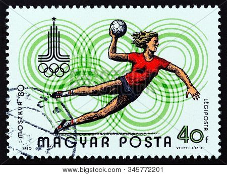 Hungary - Circa 1980: A Stamp Printed In Hungary From The