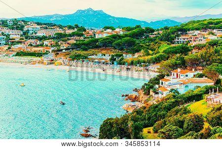 Baja Sardinia In Costa Smeralda In Sardinia Of Italy Reflex