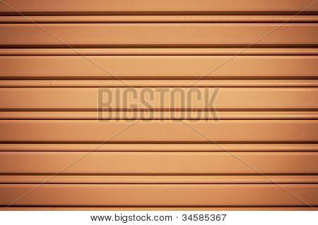 Cool Industrial Metal Orange Door Background