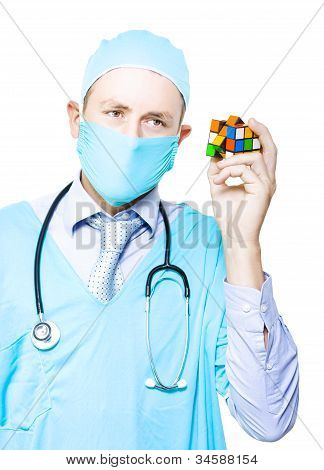 Doctor Problem Solving Medical Complications