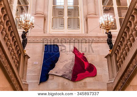 Constitutional Council, Interiors, Paris, France